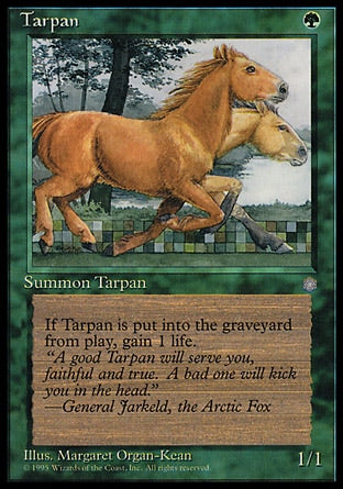 Tarpã / Tarpan-Magic: The Gathering-MoxLand