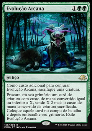 Evolução Arcana / Eldritch Evolution-Magic: The Gathering-MoxLand