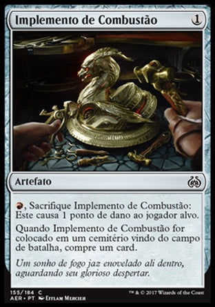 Implemento de Combustão / Implement of Combustion-Magic: The Gathering-MoxLand