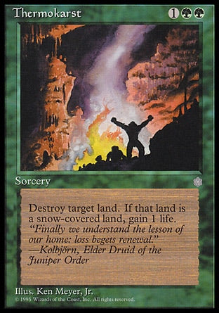 Termocarse / Thermokarst-Magic: The Gathering-MoxLand