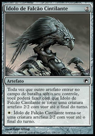 Ídolo de Falcão Cintilante / Glint Hawk Idol-Magic: The Gathering-MoxLand