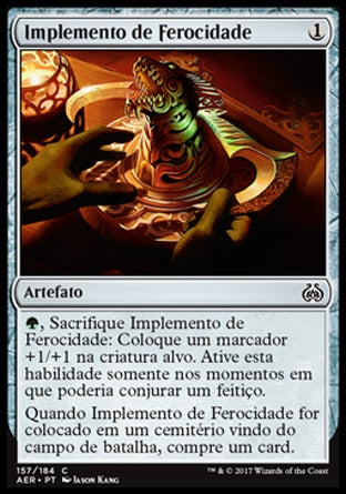Implemento de Ferocidade / Implement of Ferocity-Magic: The Gathering-MoxLand