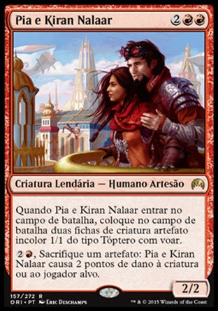 Pia e Kiran Nalaar / Pia and Kiran Nalaar-Magic: The Gathering-MoxLand