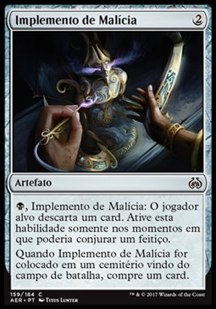 Implemento de Malícia / Implement of Malice-Magic: The Gathering-MoxLand