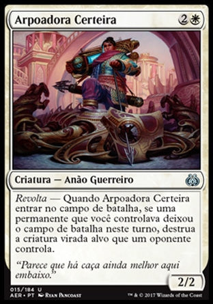 Arpoadora Certeira / Deadeye Harpooner-Magic: The Gathering-MoxLand