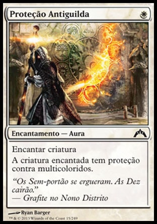 Proteção Antiguilda / Guildscorn Ward-Magic: The Gathering-MoxLand