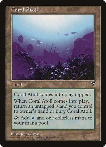 Atol de Coral   Coral Atoll-Magic  The Gathering-MoxLand fbcc4d23544