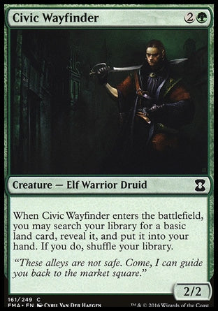 Guia Urbano / Civic Wayfinder-Magic: The Gathering-MoxLand