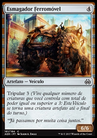 Esmagador Ferromóvel / Irontread Crusher-Magic: The Gathering-MoxLand