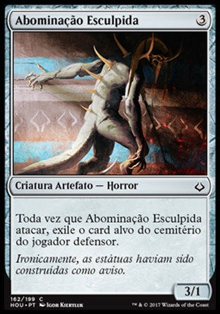 Abominação Esculpida / Graven Abomination-Magic: The Gathering-MoxLand