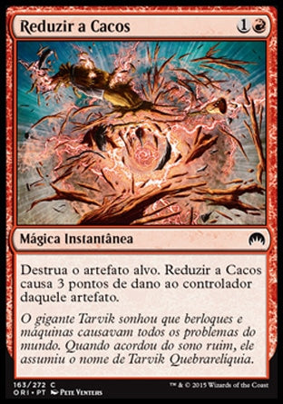 Reduzir a Cacos / Smash to Smithereens-Magic: The Gathering-MoxLand