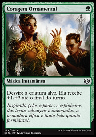 Coragem Ornamental / Ornamental Courage-Magic: The Gathering-MoxLand