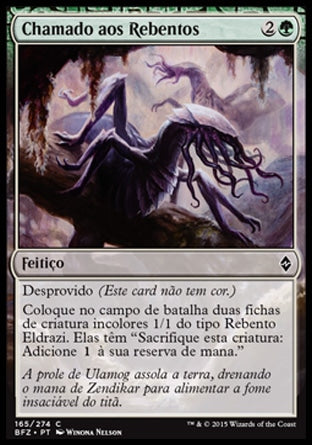 Chamado aos Rebentos / Call the Scions-Magic: The Gathering-MoxLand