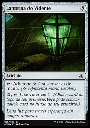Lanterna do Vidente / Seer's Lantern-Magic: The Gathering-MoxLand