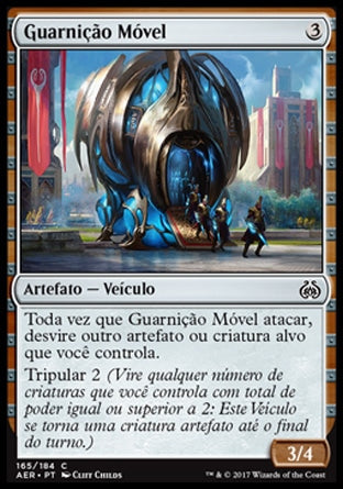 Guarnição Móvel / Mobile Garrison-Magic: The Gathering-MoxLand