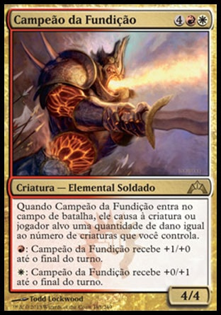 Campeão da Fundição / Foundry Champion-Magic: The Gathering-MoxLand
