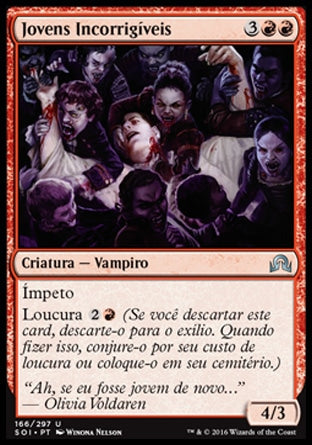Jovens Incorrigíveis / Incorrigible Youths-Magic: The Gathering-MoxLand