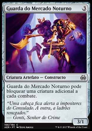 Guarda do Mercado / Noturno Night Market Guard-Magic: The Gathering-MoxLand