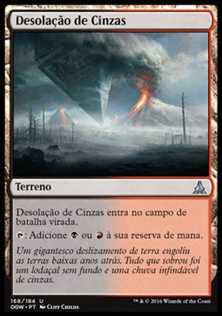 Desolação de Cinzas / Cinder Barrens-Magic: The Gathering-MoxLand