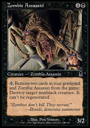 Assassino Zumbi / Zombie Assassin-Magic: The Gathering-MoxLand