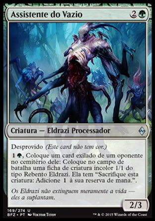 Assistente do Vazio / Void Attendant-Magic: The Gathering-MoxLand