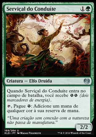 Serviçal do Conduíte / Servant of the Conduit-Magic: The Gathering-MoxLand