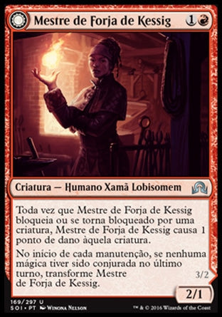 Mestre de Forja de Kessig / Kessig Forgemaster-Magic: The Gathering-MoxLand