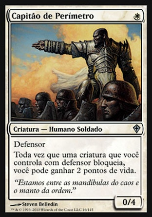 Capitão de Perímetro / Perimeter Captain-Magic: The Gathering-MoxLand