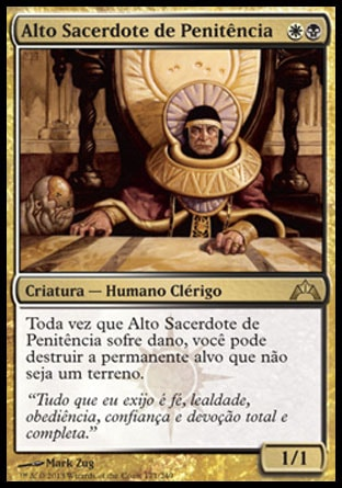 Alto Sacerdote de Penitência / High Priest of Penance-Magic: The Gathering-MoxLand