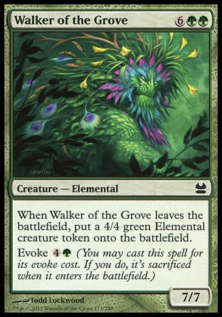 Andarilho do Bosque / Walker of the Grove-Magic: The Gathering-MoxLand