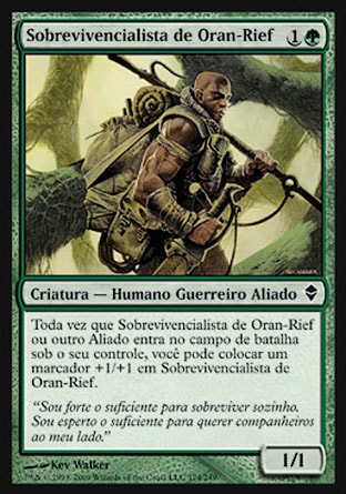 Sobrevivencialista de Oran-Rief / Oran-Rief Survivalist-Magic: The Gathering-MoxLand