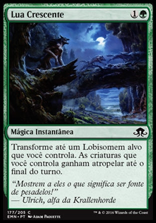 Lua Crescente / Waxing Moon-Magic: The Gathering-MoxLand