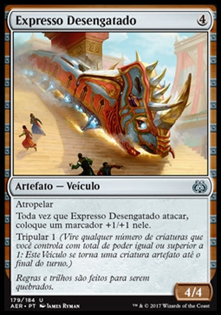 Expresso Desengatado / Untethered Express-Magic: The Gathering-MoxLand