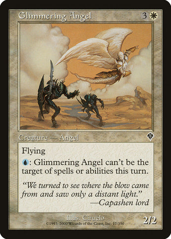 Anjo Brilhante / Glimmering Angel-Magic: The Gathering-MoxLand