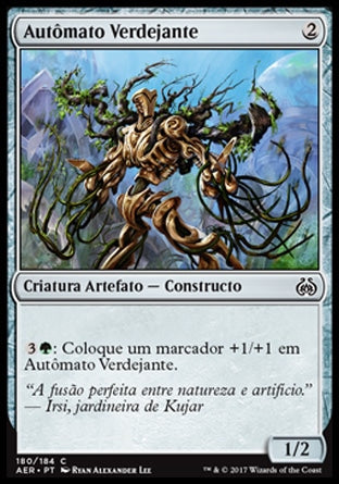 Autômato Verdejante / Verdant Automaton-Magic: The Gathering-MoxLand