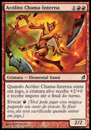Acólito Chama-Interna / Inner-Flame Acolyte-Magic: The Gathering-MoxLand