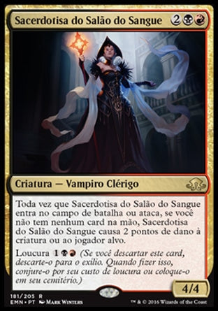 Sacerdotisa do Salão do Sangue / Bloodhall Priest-Magic: The Gathering-MoxLand