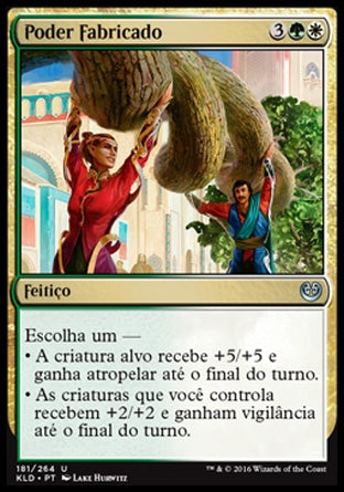 Poder Fabricado / Engineered Might-Magic: The Gathering-MoxLand