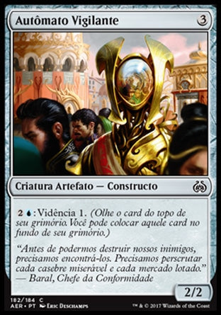 Autômato Vigilante / Watchful Automaton-Magic: The Gathering-MoxLand