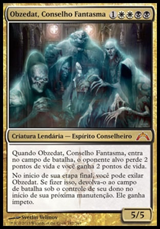 Obzedat, Conselho Fantasma / Obzedat, Ghost Council-Magic: The Gathering-MoxLand