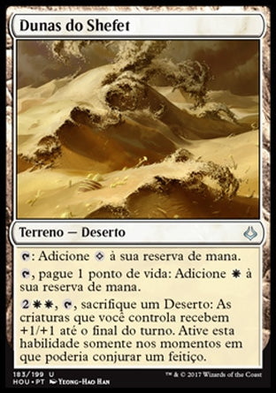Dunas do Shefet / Shefet Dunes-Magic: The Gathering-MoxLand