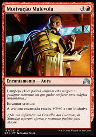 Motivação Malévola / Spiteful Motives-Magic: The Gathering-MoxLand