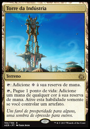 Torre da Indústria / Spire of Industry-Magic: The Gathering-MoxLand