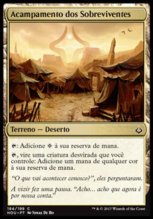 Acampamento dos Sobreviventes / Survivors' Encampment-Magic: The Gathering-MoxLand
