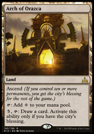 Arco de Orazca / Arch of Orazca-Magic: The Gathering-MoxLand