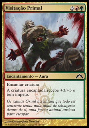 Visitação Primal / Primal Visitation-Magic: The Gathering-MoxLand