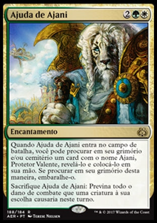 Ajuda de Ajani / Ajani's Aid-Magic: The Gathering-MoxLand