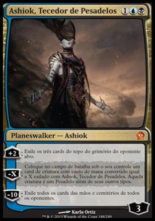 Ashiok, Tecedor de Pesadelos / Ashiok, Nightmare Weaver-Magic: The Gathering-MoxLand