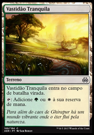 Vastidão Tranquila / Tranquil Expanse-Magic: The Gathering-MoxLand