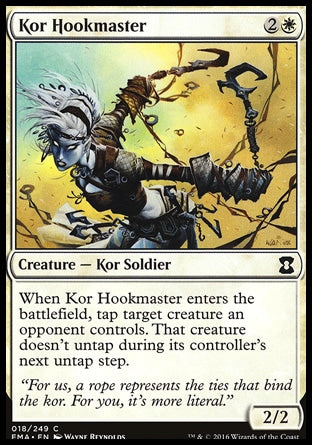 Mestre em Arpéu Kor / Kor Hookmaster-Magic: The Gathering-MoxLand